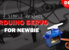 4 Simple Project Servo Arduino for NEWBIE #DEMO