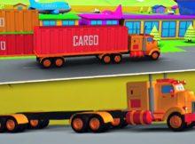american trak | Pembentukan dan Kegunaan | 3D Vehicle For Kids | Formation And Uses | American Truck
