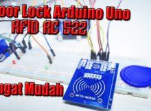 Arduino uno - Membuat Door Lock Menggunakan RFID RC522 - Bahasa Indonesia
