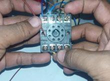 automatis inverter   pln dengan 2 relay 220 v