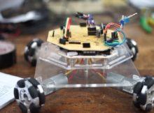 Design Omniwheel Robot DTE SV UGM