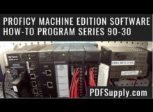 GE Fanuc PLC Support & Training - Proficy Machine Edition Software - How-to Program Series 90-30