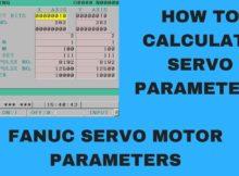 How to calculate values for Servo parameter | FANUC servo motor