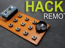 How to hack any IR Remote using arduino.