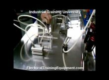 Hydraulic & Pneumatic Training Equipment panel video