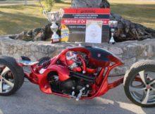 Kebanyakan sepeda motor yang menarik dan tidak biasa di dunia