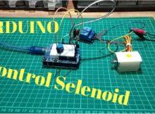 Kontrol Selenoid Berbasis Arduino - Tutorial Arduino Indonesia