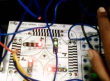 kontrol traffic light menggunakan PLC omron CPU22 CJ1M Toolbus conenction @LAB OTOMASI ROBOTIKA PPNS