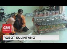 Mahasiswa Surabaya Berhasil Ciptakan Robot Kulintang