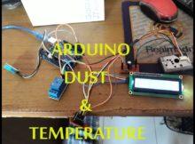 Membuat Alat Monitor Debu dan Suhu (dust and temperature) Menggunakan ARDUINO