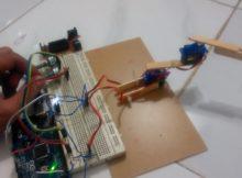 Membuat Robot Lengan Dua Sendi Dengan Arduino ----------------- Nofgi Piston Blog