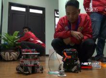 NET. JATIM - ROBOT UMM MALANG SABET JUARA 1 DI KELAS INTERNASIONAL