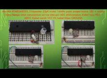Part 18 Belajar Mikrokontroler ATMEGA + Interupsi ADC