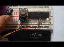 Part 29 Belajar Mikrokontroler ATMEGA + ADC EXT Interupsi Sensor Gas ADC