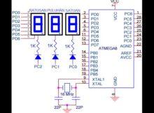 Part 6 Belajar Mikrokontroler ATMEGA + seven segmen
