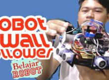 Prinsip Dasar Robot Wall Follower (Pengikut Dinding) - Tutorial Robot