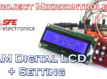 Project Jam Digital LCD 16x2 + Setting