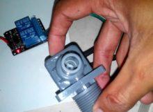 Prototype Dispenser Otomatis - Percobaan Pertama