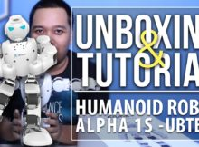 ROBOT DANCE!!! - ALPHA 1S FROM UB TECH - UNBOXING & REVIEW