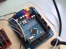 sistem penerima radio menggunakan mikrokontroler nuvoton DT-ARM NUC120