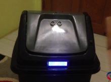 Smart Trash Bin - Tempat Sampah Pintar Berbasis Arduino dan Modul GSM SIM900A Mini