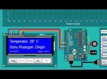 Test Monitoring Suhu dengan Arduino Uno dan Delphi 7