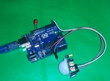 Trick arduino 2, Mendeteksi gerakan dengan PIR pada arduino