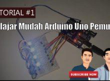 Tutorial Belajar Membuat Lampu LED Berkedip Flip Flop Menggunakan Arduino Uno