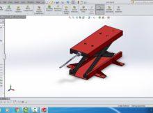 Tutorial Belajar Solidworks # membuat jack stand dengan mekanisme screw