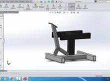 Tutorial Belajar Solidworks # membutat jack stand mekanisme pengungkit