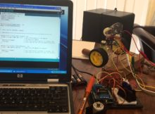 Using the Sainsmart Motor Drive Shield L293D with Arduino Uno.