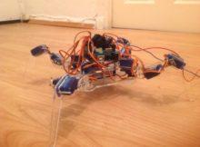 walking quad robot 3DOF partial build and program tutorial; arduino project  part 1