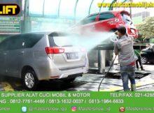 Alat cuci mobil Hidrolik type H-track sangat Aman dan Mudah di Gunakan