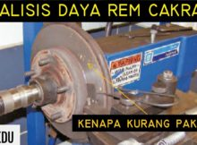 Analisis Rem Cakram (Disc Brake) Hidrolik