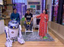 Andre Kepo Dengan Robot Rakitan Ala Star Wars