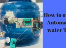 Arduino based automatic water tap using IR sensor by Creatjet3D Labs