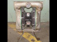 "ARO 1.5"" 316 stainless steel diaphragm pump"