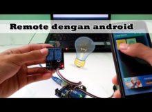 Belajar Arduino - mengontrol relay dengan android