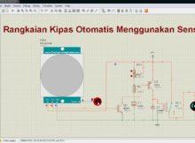 Cara Membuat Rangkaian Kipas Otomatis Menggunakan Sensor PIR Di Proteus #22