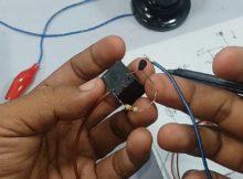 cara membuat saklar otomatis lampu sensor cahaya,cara kerja LDR