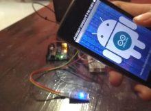 Cara menyalakan lampu menggunakan android via bluetooth dengan suara