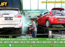 Cuci mobil dengan Hidrolik lebih Bersih dan aman