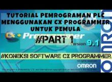 Cx programmer untuk pemula | pemrograman plc omron | Tutorial komunikasi awal software ke plc omron