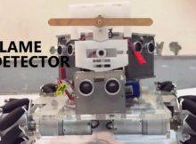 Design Mecanum Wheel Robot DTE SV UGM