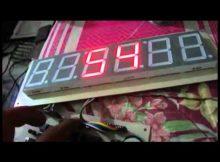 Dewata Elektronik - Jam Digital ATmega8 Seven Segment