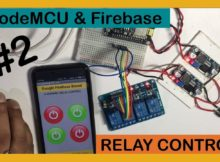 Google firebase and NodeMCU Relay Control (PART3)