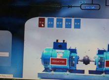 implementasi SCADA mengunakan arduino pada generator penguatan terpisah