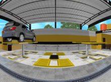 """Inspirasi Konsep Usaha Cuci Mobil Hidrolik """"Carwash"""" (360 video)"""