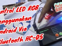 Kontrol LED RGB Menggunakan Android Via Bluetooth HC 05 - Tutorial Arduino Indonesia #20
