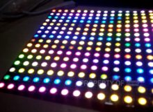 LED Tshirt WS2812B Bluetooth Control 256 Led Matrix